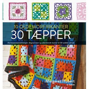 10 oldemorfirkanter 30 tæpper - Bog af Margaret Hubert