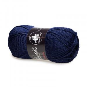 Mayflower Alpakka Garn Unicolor 15 Marineblå
