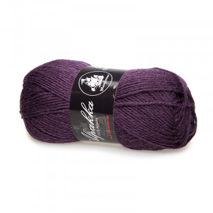 Mayflower Alpakka Garn Unicolor 24 Blomme