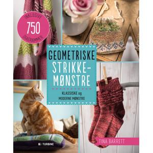 Geometriske strikkemønstre - Bog af Tina Barrett