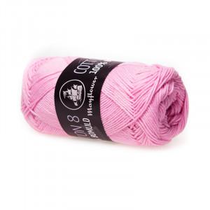 Image of   Mayflower Cotton 8/4 Garn Unicolor 1449 Lyserød