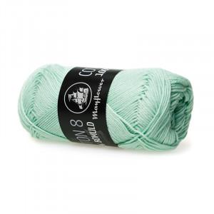 Image of   Mayflower Cotton 8/4 Garn Unicolor 1453 Pastelgrøn