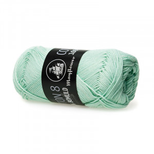 Mayflower Cotton 8/4 Garn Unicolor 1453 Pastelgrøn