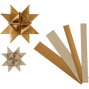 Vivi gade – Vivi gade stjernestrimler kobber/glitter/lak mønster 44-86cm 15-25mm d fra rito.dk