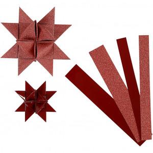 Vivi gade Vivi gade stjernestrimler rød/glitter/lak 44-86cm 15-25mm diameter 6,5 på rito.dk