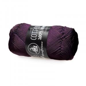 Mayflower Cotton 8/4 Garn Unicolor 1444 Blomme