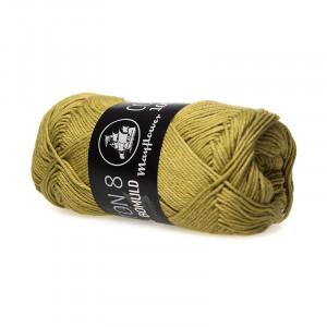 Mayflower Cotton 8/4 Garn Unicolor 1445 Oliven