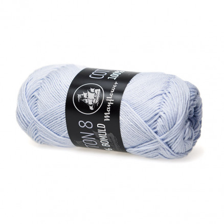 Image of   Mayflower Cotton 8/4 Garn Unicolor 1450 Himmelblå