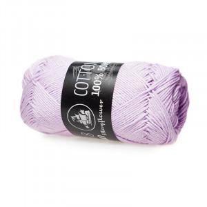 Mayflower Cotton 8/4 Garn Unicolor 1451 Lyselilla