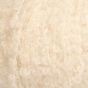Drops alpaca bouclé garn unicolor 0100 natur fra Garnstudio - drops fra rito.dk