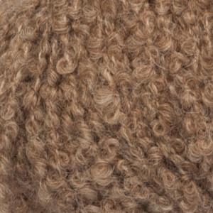 Drops alpaca bouclé garn mix 0602 brun fra Garnstudio - drops på rito.dk