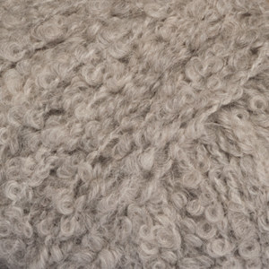 Drops Alpaca Bouclé Garn Mix 5110 Lys Grå