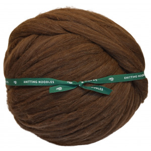 Knitting Noodles Ovilla Lana Grande Kæmpe Garn Mørkebrun