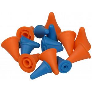 Image of   Infinity Hearts Maskestopper / Pindebeskytter til pindenr. 2 og 5,5mm