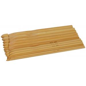 Infinity Hearts Hæklenålesæt Bambus 15cm 3-10mm 12 størrelser