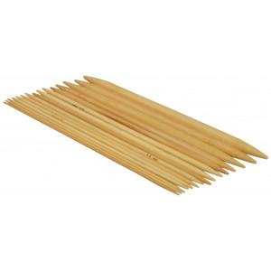 Strømpepindesæt Bambus 20cm 2-10mm 15 størrelser