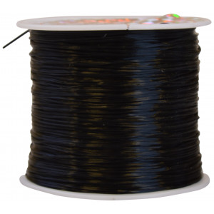 Elastik Nylon Sort 0,8mm 50m