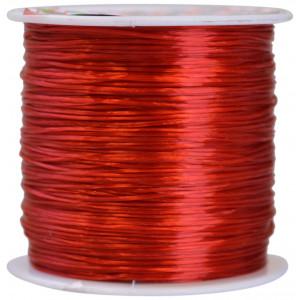 Elastik Nylon Rød 0,8mm 50m