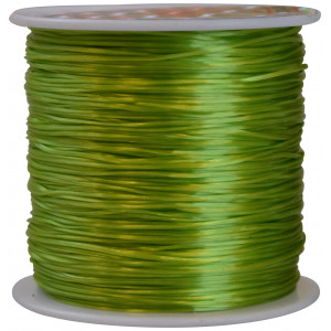 Elastik Nylon Grøn 0,8mm 50m