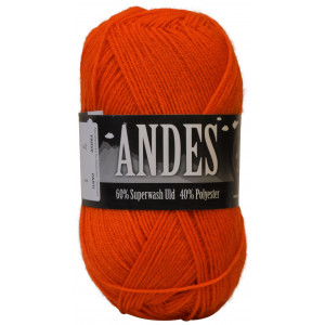 Mayflower Andes Garn Unicolor 07 Orange
