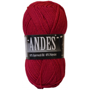 Mayflower Andes Garn Unicolor 08 Cerise
