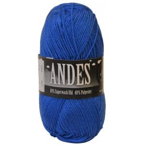 Mayflower Andes Garn Unicolor 13 Lyseblå