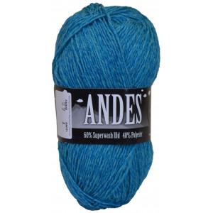 Mayflower Andes Garn Mix 27 Turkis