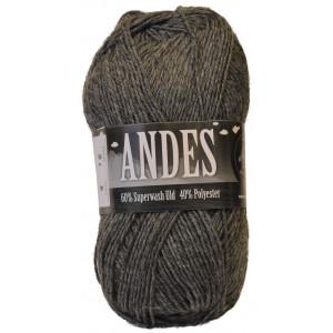 Mayflower Andes Garn Mix 31 Grå