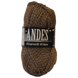 Mayflower Andes Garn Mouline 32 Brun/Beige