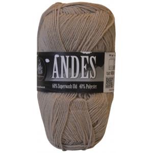 Mayflower Andes Garn Unicolor 44 Beige