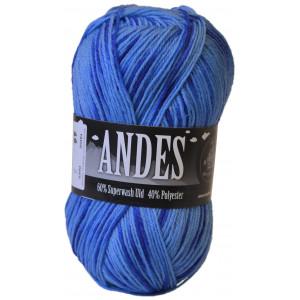 Mayflower Andes Garn Print 46 Blå