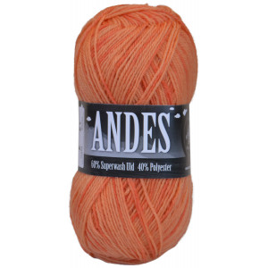 Mayflower Andes Garn Print 47 Gul/Orange
