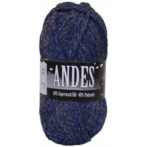 Mayflower Andes Garn Mix 49 Blå/Grå