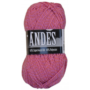 Mayflower Andes Garn Mouliné 50 Rosa/Orange