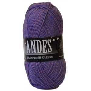 Mayflower Andes Garn Mix 52 Rosa/Blå