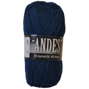 Mayflower Andes Garn Unicolor 54 Mørkeblå