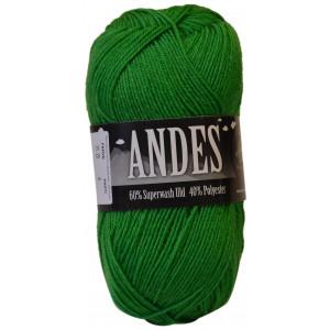 Mayflower Andes Garn Unicolor 55 Grøn
