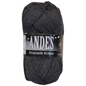 Mayflower Andes Garn Mix 60 Koksgrå