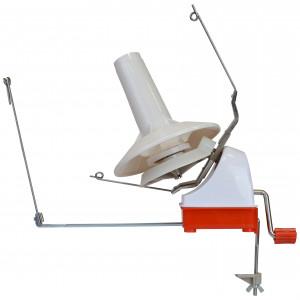Krydsnøgleapparat til garn i Beige / Rød