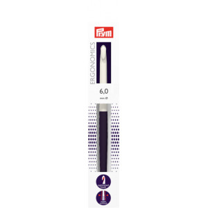 Prym Ergonomics Hæklenål Plast 17cm 6,00mm / US J/10