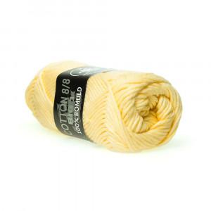 Mayflower Cotton 8/8 Big Garn Unicolor 604 Gul