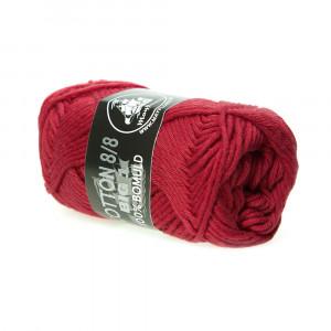 Mayflower Cotton 8/8 Big Garn Unicolor 613 Rød
