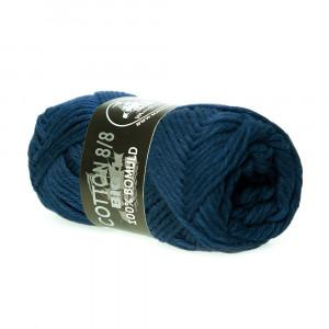 Mayflower Cotton 8/8 Big Garn Unicolor 623 Mørkeblå