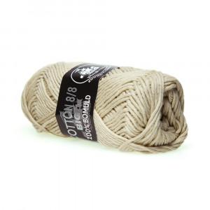 Mayflower Cotton 8/8 Big Garn Unicolor 638 Beige