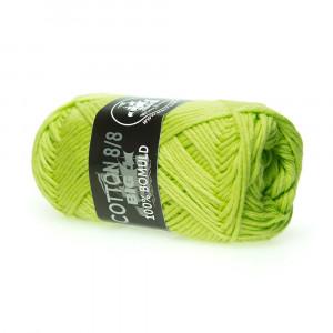 Mayflower Cotton 8/8 Big Garn Unicolor 646 Lime