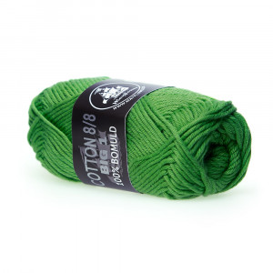 Mayflower Cotton 8/8 Big Garn Unicolor 676 Skovgrøn