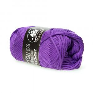 Mayflower Cotton 8/8 Big Garn Unicolor 677 Lilla