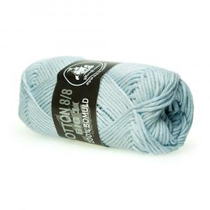 Mayflower Cotton 8/8 Big Garn Unicolor 679 Lys Blå
