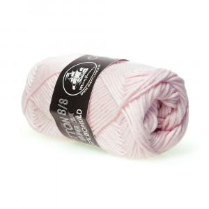 Mayflower Cotton 8/8 Big Garn Unicolor 688 Lys Rød