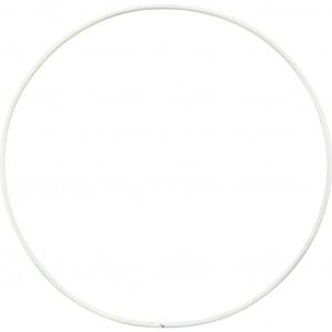 Metalring Hvid 15 cm - 10 stk